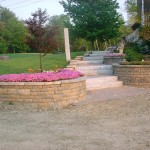Walkway and Retaining Wall – Chester, NH