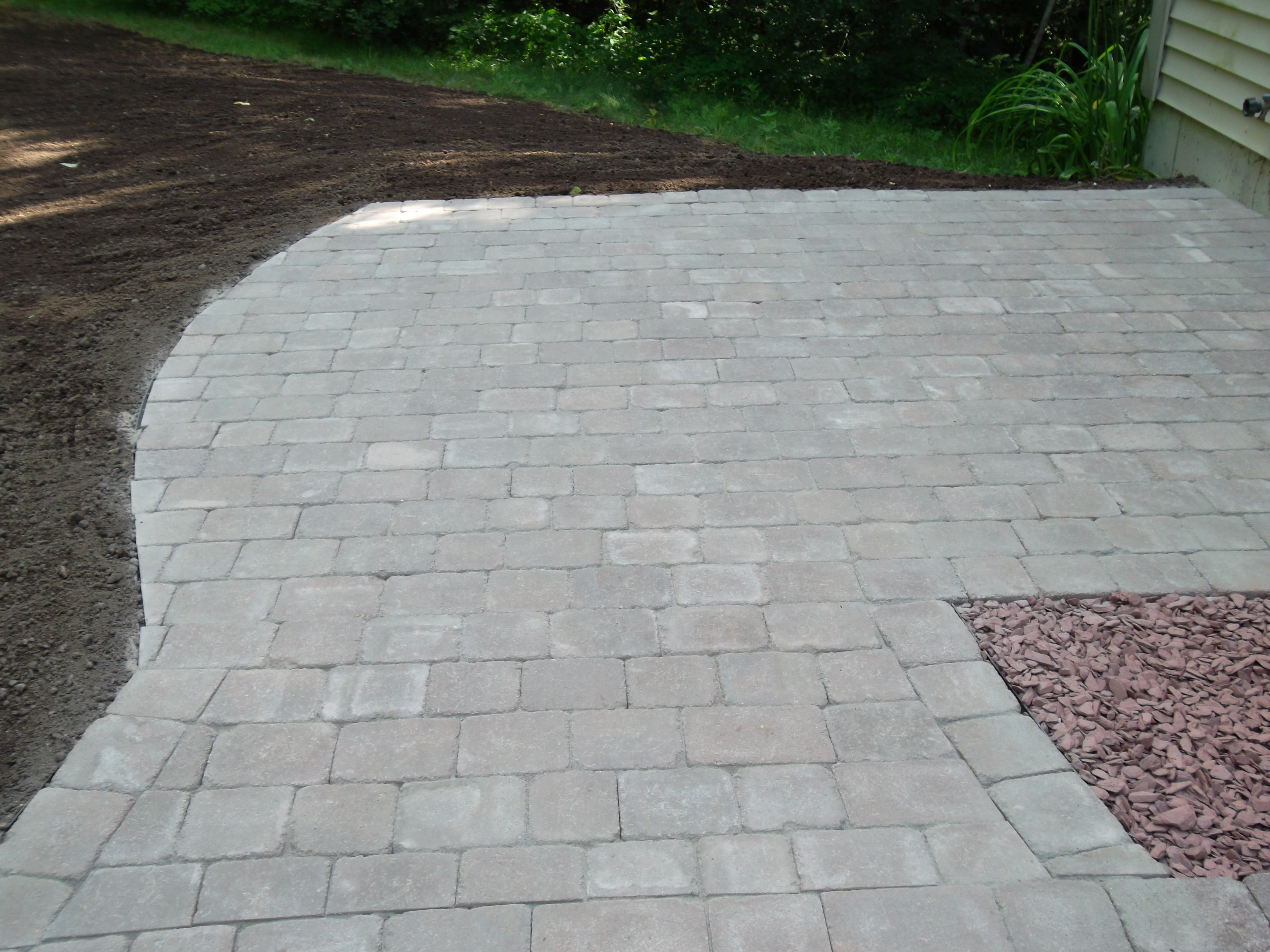 Walkway Granite Steps and Patio – Nottingham NH