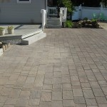 Brick Patio and Granite Step in Salem NH